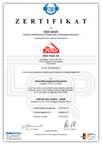 certification rotofrank